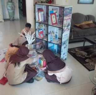 Siswa Buat Perpustakaan dan Mengelola Sendiri