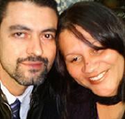 Pr. Rogério e sua esposa.