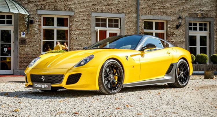 2008 Ferrari 599 GTB with a Novitec Aero kit - Rare Cars for Sale ...