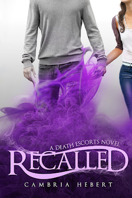Cover reveal: Recalled by Cambria Hebert