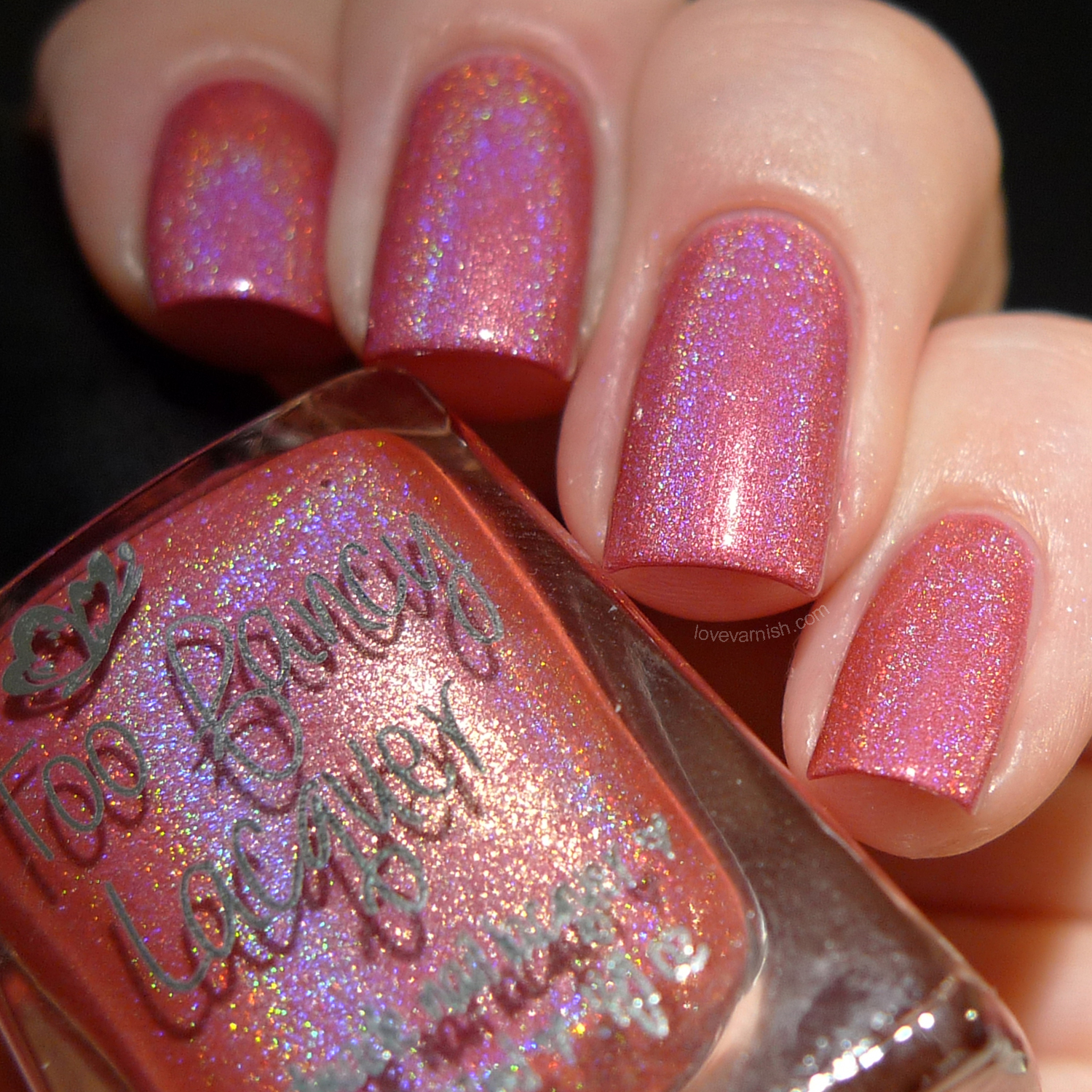 Too Fancy Lacquer The Sizzling Collection Mon Chéri