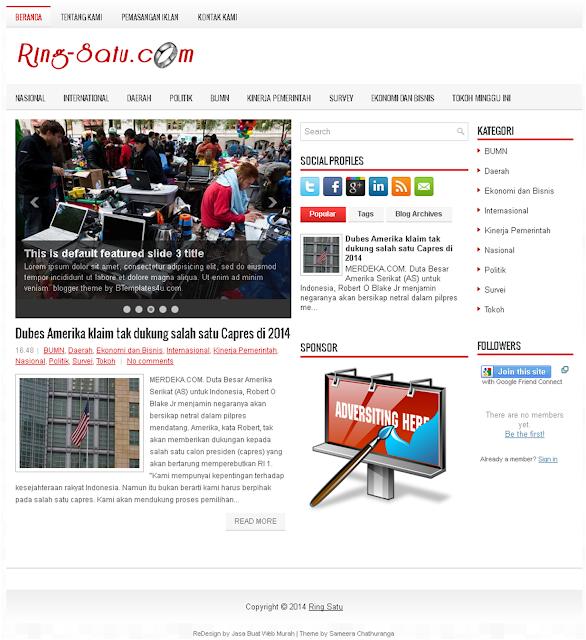 Contoh Website Berita Online