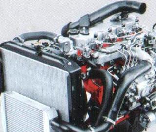 engine hino dutro