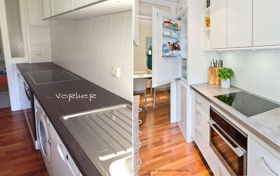 küchen renovieren durch erneuern der küchenfronten | haus ...