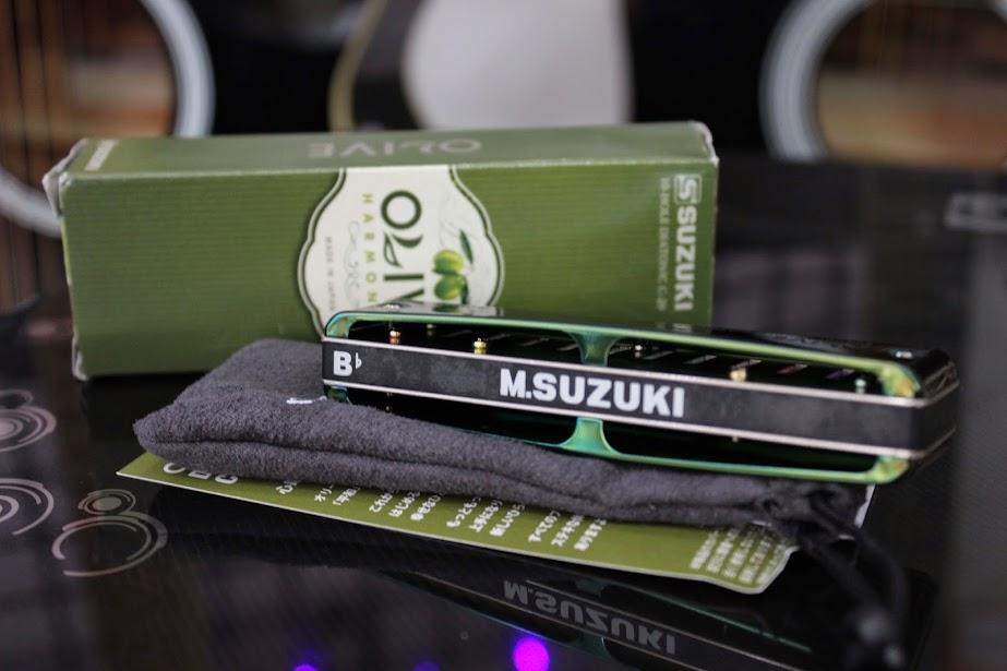 Kèn Harmonica Suzuki Olive C-20