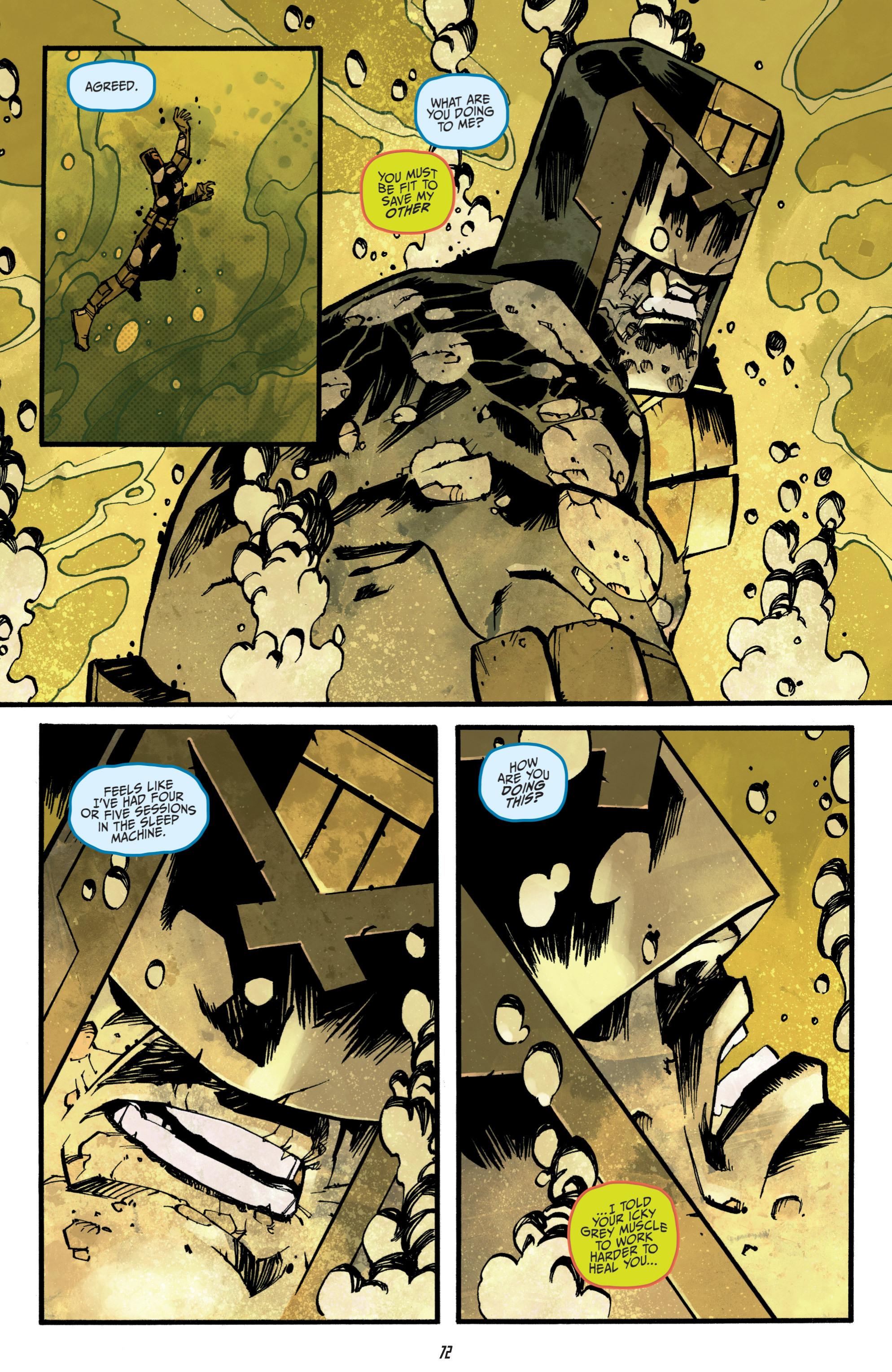 Read online Judge Dredd (2012) comic -  Issue # _TPB 3 - 72