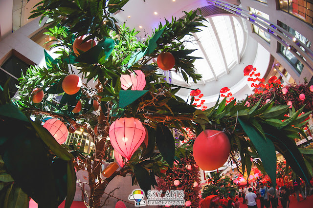 Pavilion KL 2016 CNY Deco - 'Steps of Sweet Scents'