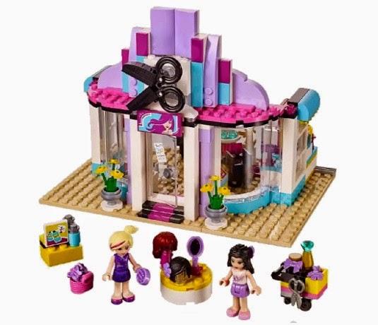 JUGUETES - LEGO Friends  41093 La Peluquería de Heartlake  Producto Oficial 2015 | Piezas: 318 | Edad: 6-12 años