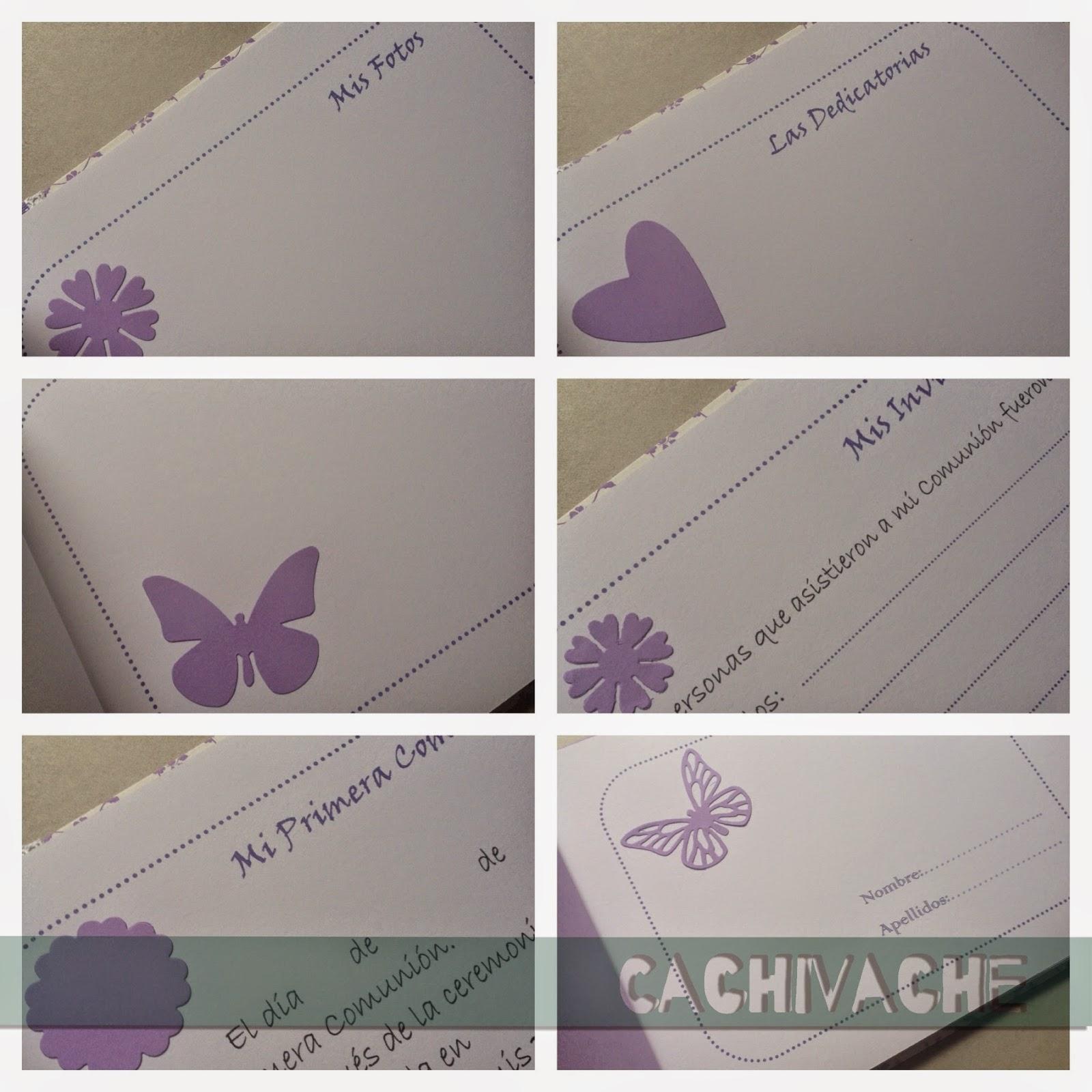Libro de firmas comuni n for Interior libro de firmas comunion