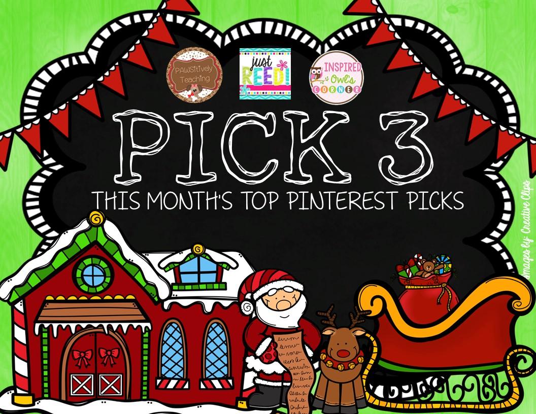 Pinterest Pick 3: It's December Baby!