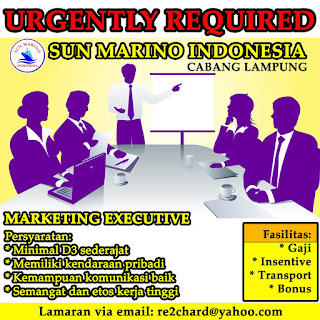 Lowongan Kerja SUN MARINO Terbaru Di Lampung, Lowongan Kerja SMA/ SMK SUN MARINO Terbaru, Lowongan Kerja D3 SUN MARINO Terbaru, Lowongan Kerja D1 SUN MARINO Terbaru, Lowongan Kerja S1/ Sarjana SUN MARINO Terbaru, Lowongan Kerja Administrasi SUN MARINO Terbaru, Lowongan Kerja Accounting SUN MARINO Terbaru, Lowongan Kerja Driver/ Sopir SUN MARINO Terbaru, Lowongan Kerja Satpam/ Scurity SUN MARINO Terbaru, Lowongan Kerja Staff SUN MARINO Terbaru, Lowongan Kerja CS/ Costumer Service di SUN MARINO Terbaru, Lowongan Kerja IT di SUN MARINO Terbaru, Karir Lampung di SUN MARINO Terbaru, Alamat Lengkap SUN MARINO Terbaru, Struktur Organisasi SUN MARINO Terbaru, Email SUN MARINO, No Telepon SUN MARINO Website/ Situs Resmi SUN MARINO Terbaru, Gaji Standar UMR di SUN MARINO Terbaru, Daftar Cabang Perusahaan SUN MARINO Terbaru, Lowongan Kerja Penipuan SUN MARINO Terbaru, Lowongan Kerja SUN MARINO Terbaru di Bandar Lampung, Lowongan Kerja SUN MARINO Terbaru di Metro, Lowongan Kerja SUN MARINO Terbaru di Bandar Jaya, Lowongan Kerja SUN MARINO Terbaru di Liwa, Lowongan Kerja SUN MARINO Terbaru di Kalianda, Lowongan Kerja SUN MARINO Terbaru di Tulang Bawang, Lowongan Kerja SUN MARINO Terbaru di Pringsewu, Lowongan Kerja SUN MARINO Terbaru di Kota bumi, Lowongan Kerja SUN MARINO Terbaru di Krui, Lowongan Kerja SUN MARINO Terbaru di Natar, Lowongan Kerja SUN MARINO Terbaru di Blambangan Umpu, Lowongan Kerja SUN MARINO Terbaru di Panaragan Jaya, Lowongan Kerja SUN MARINO Terbaru di Sukadana, Lowongan Kerja SUN MARINO Terbaru di Gunung Sugih, Lowongan Kerja SUN MARINO Terbaru di Wiralaga Mulya, Lowongan Kerja SUN MARINO Terbaru di Gedong Tataan, Lowongan Kerja SUN MARINO Terbaru di Surabaya, Lowongan Kerja SUN MARINO Terbaru di Bandung, Lowongan Kerja SUN MARINO Terbaru di Bekasi, Lowongan Kerja SUN MARINO Terbaru di Medan, Lowongan Kerja SUN MARINO Terbaru di Tangerang, Lowongan Kerja SUN MARINO Terbaru di Depok, Lowongan Kerja SUN MARINO Terbaru di Semarang, Lowongan Kerja SUN MARINO T