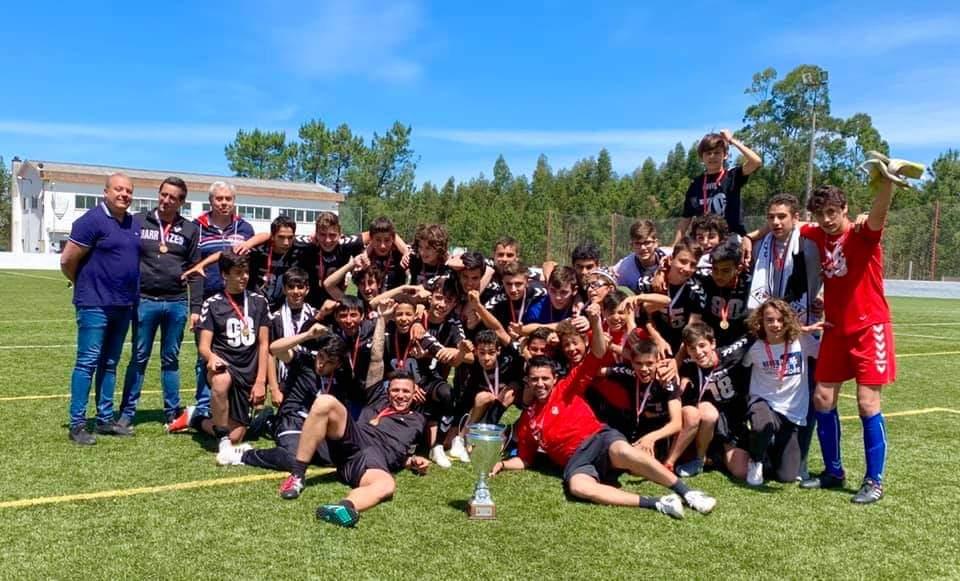 Campeões 1ª Divisão Distrital de Iniciados - 2018/2019
