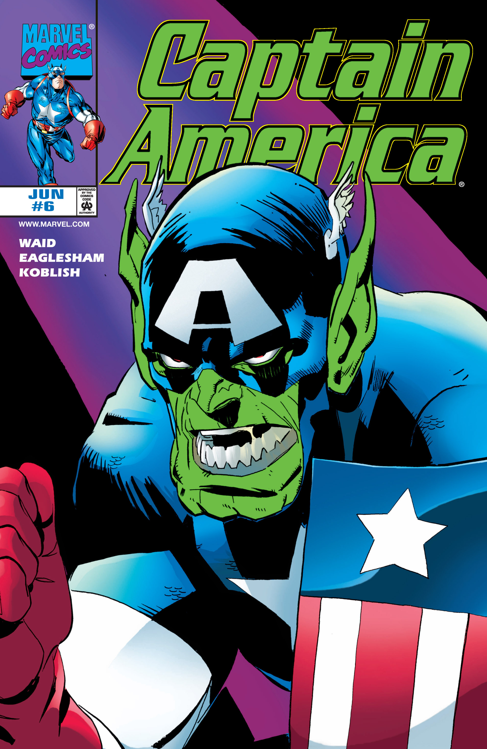 Captain America (1998) Issue #6 #9 - English 1