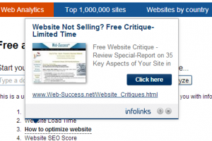 Inline ads (8 advertising solutions for your site or product promotion)