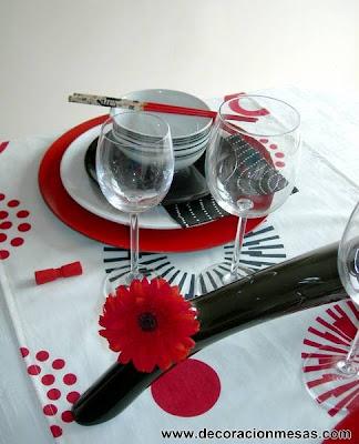 decoracion mesa estilo oriental 5