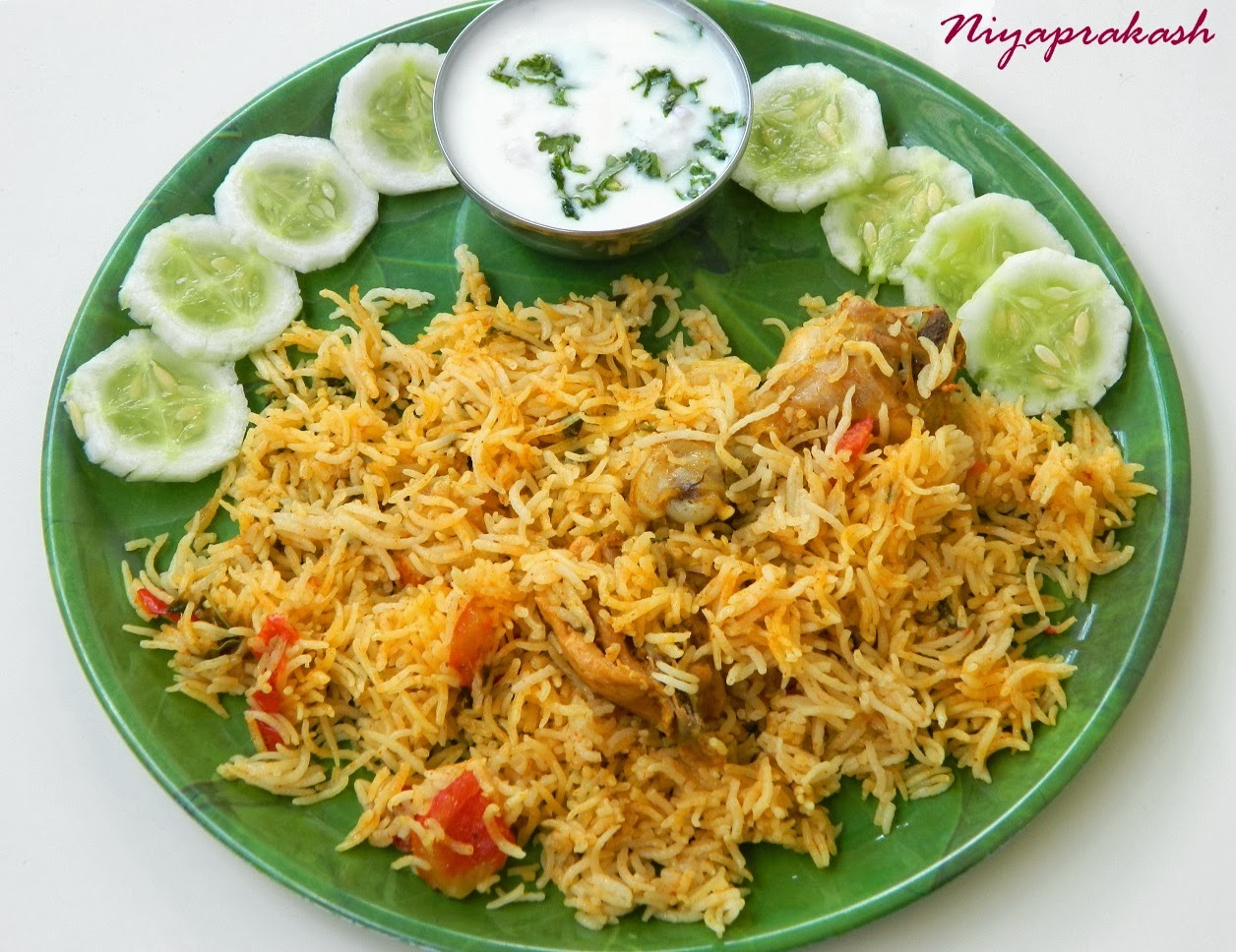 niya 39 s world chicken biryani