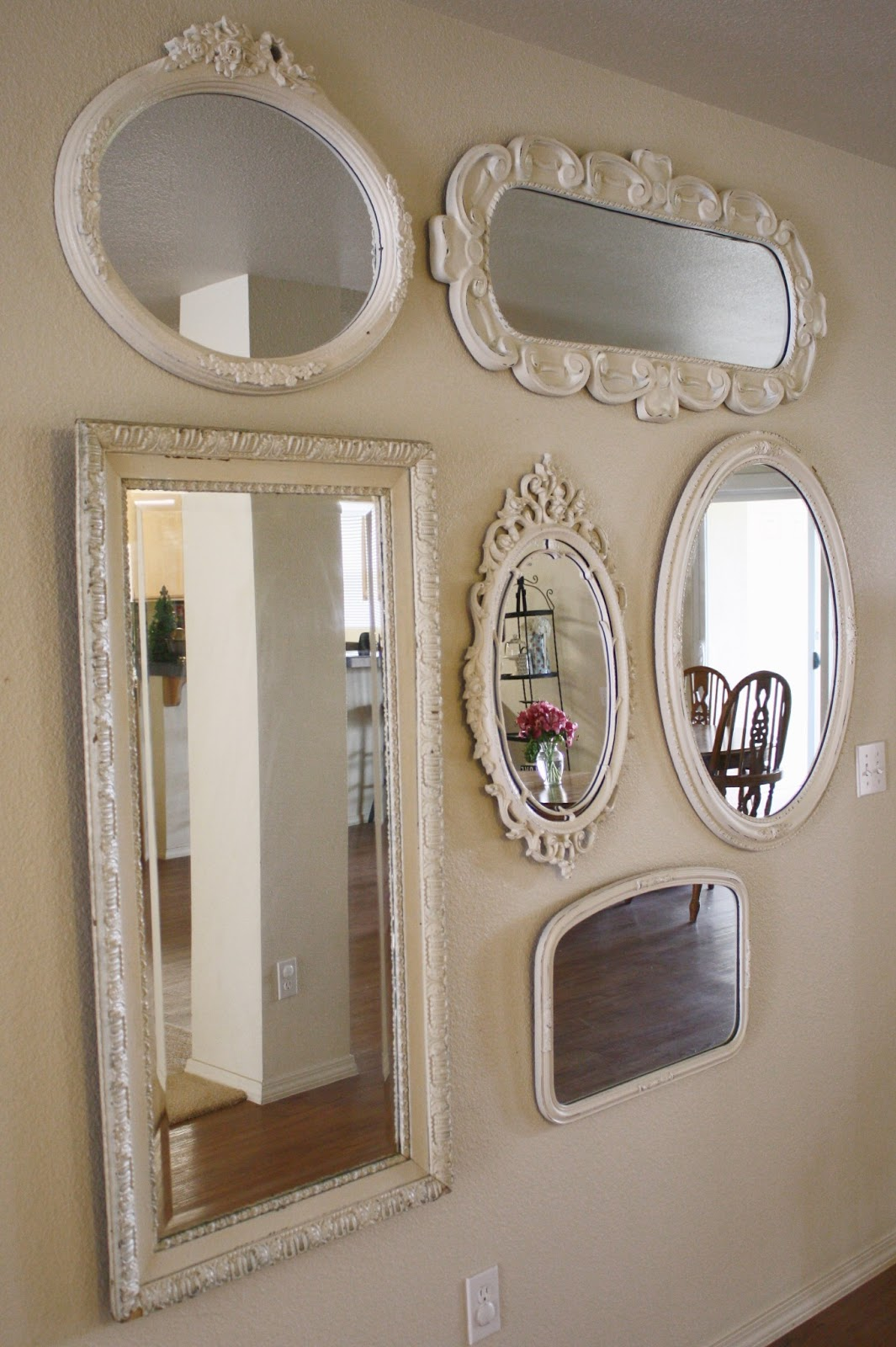 my mirrors on the wall. Black Bedroom Furniture Sets. Home Design Ideas