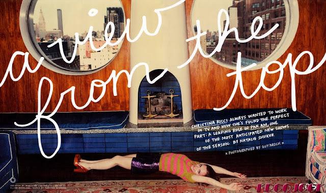 Christina Ricci – Nylon Magazine – September 2011