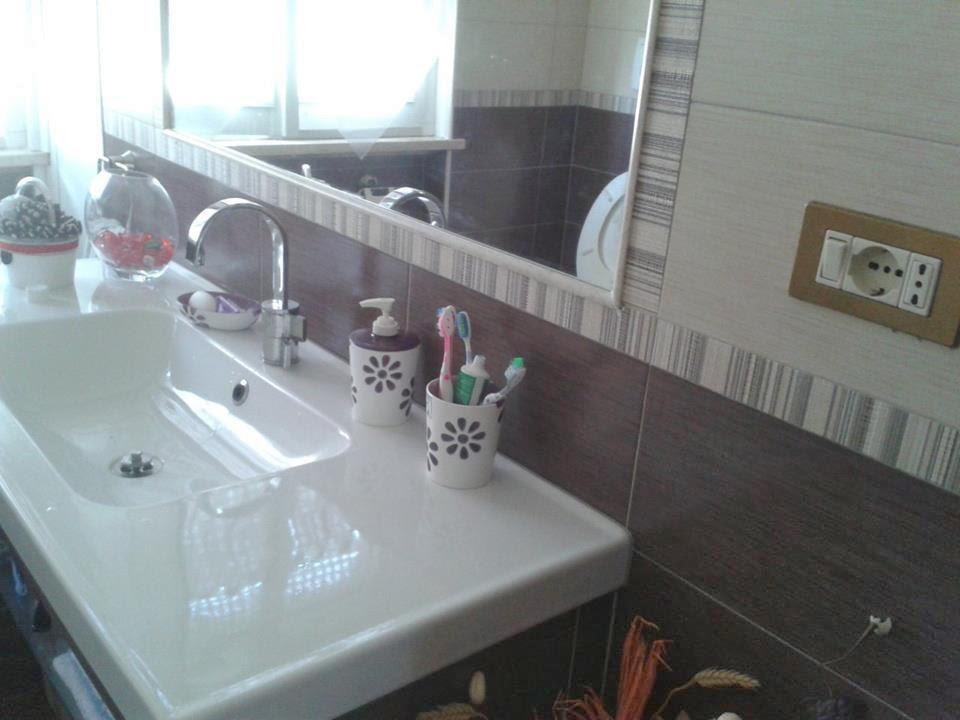 Un pezzo alla volta nuovi accessori bagno personalizzati - Bagno marrone e beige ...