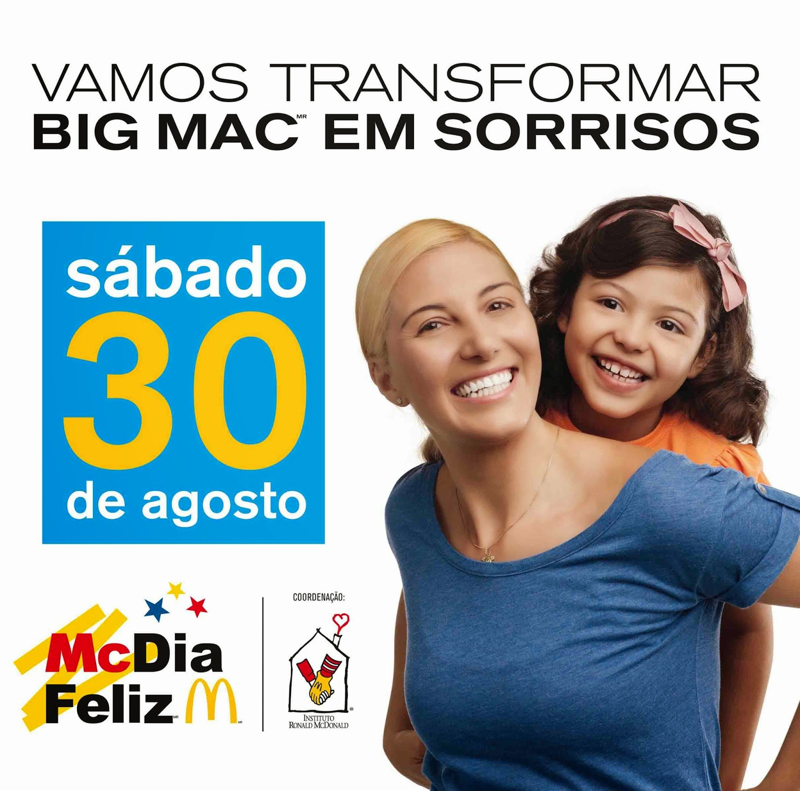 Bangu Shopping participa do McDia Feliz 2014