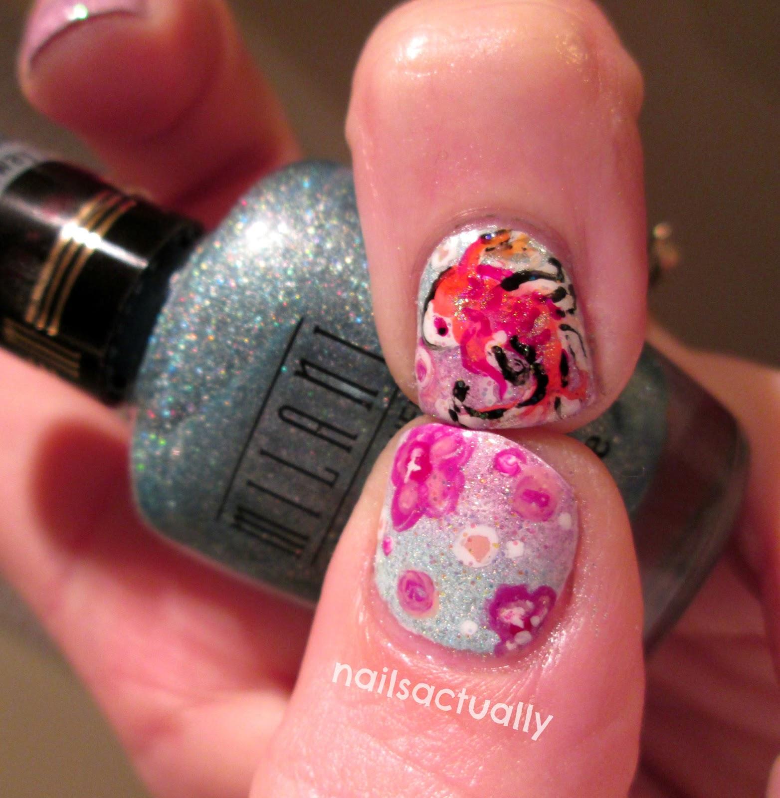 Nails Actually: Koi Nails inspired by Natasha Wescoat