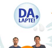 www.dalapte.ro Spune DA LAPTE!