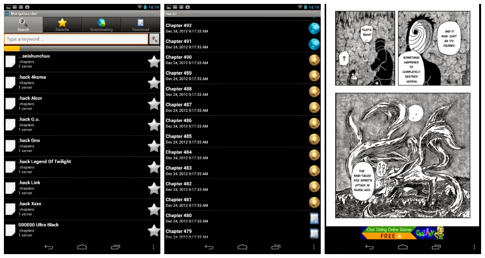 Manga Searcher Manga Browser Apk