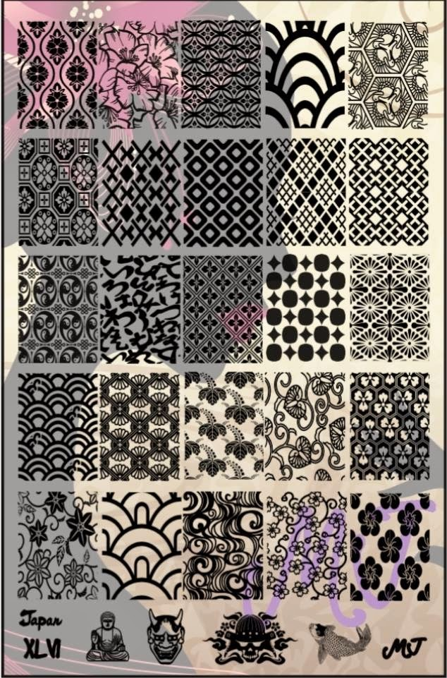 Lacquer Lockdown - MyOnline Shop, new stamping plates 2015, new nail art stamping plates, 2015, nail art stamping, nail art stamping blog, stamping, nail art, diy nail art, cute nail art idea, cool image plats, pop culture image plates, abstracts