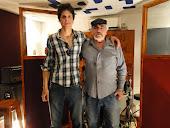Con Matías Cipiliano