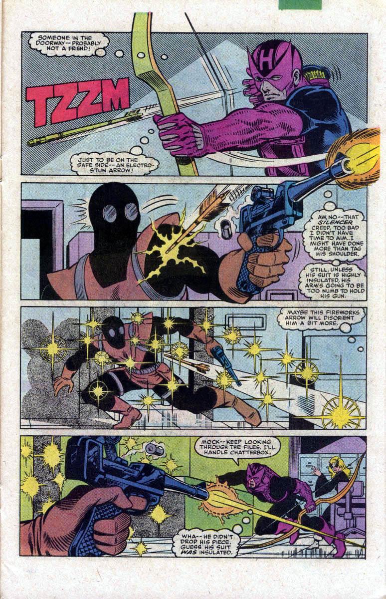 Hawkeye (1983) Issue #2 #2 - English 20