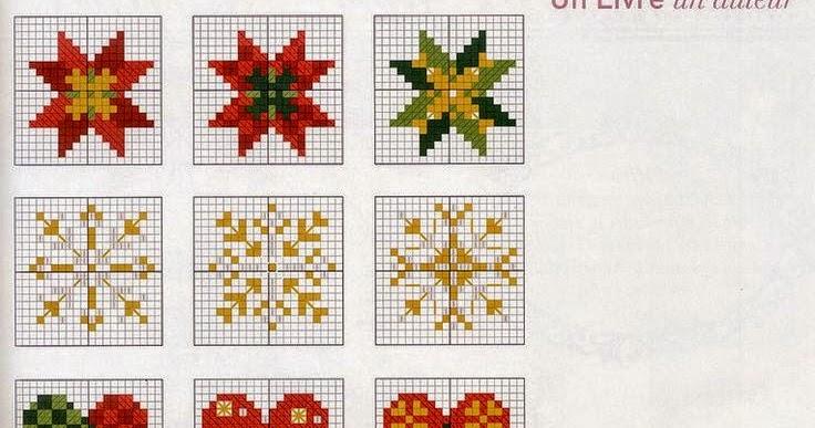 Ricami e schemi a punto croce gratuiti piccoli e facili for Punto croce schemi facili