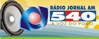 ouvir a Rádio Jornal AM 540,0 Aracaju SE