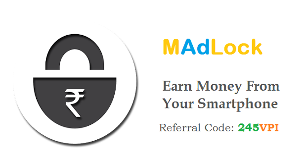 MAdLock - The Android Based Lockscreen to Earn Money