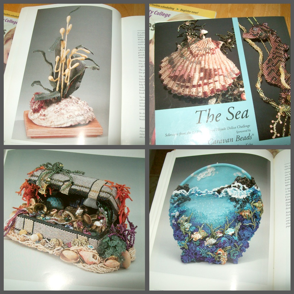 Off Loom Bead Weaving Instructions http://amybeads.blogspot.com/2012/04/z-blog-challenge-books-about-beading.html