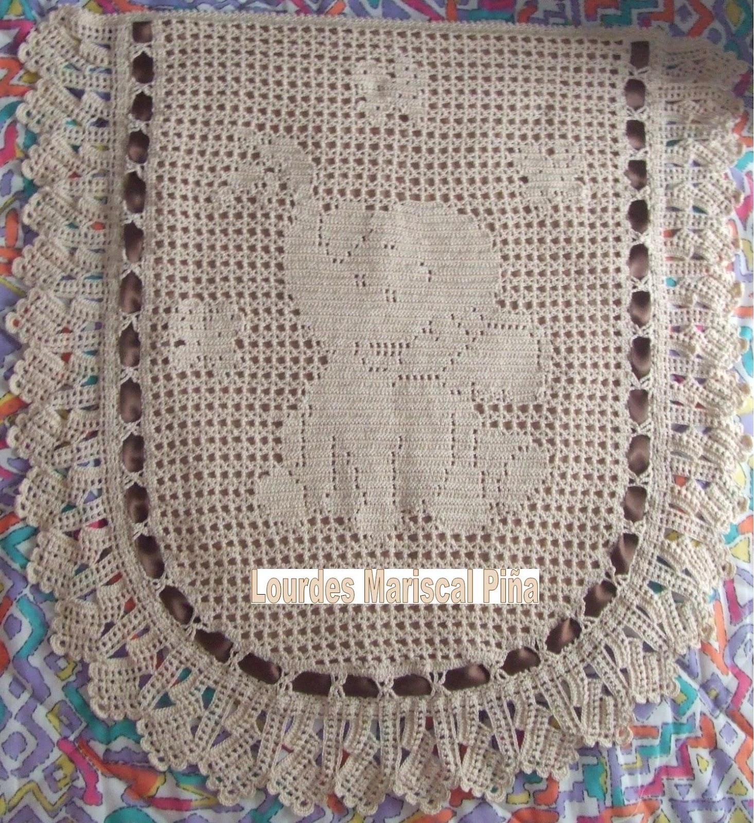 Colchas para carritos de bebé en crochet - Imagui