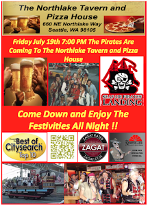 Pirate Night Flyer