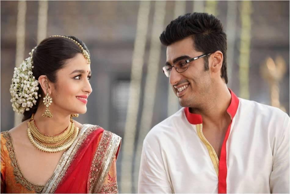 Alia Bhatt Arjun Kapoor From 2 States Romantic Hd Wallpapers