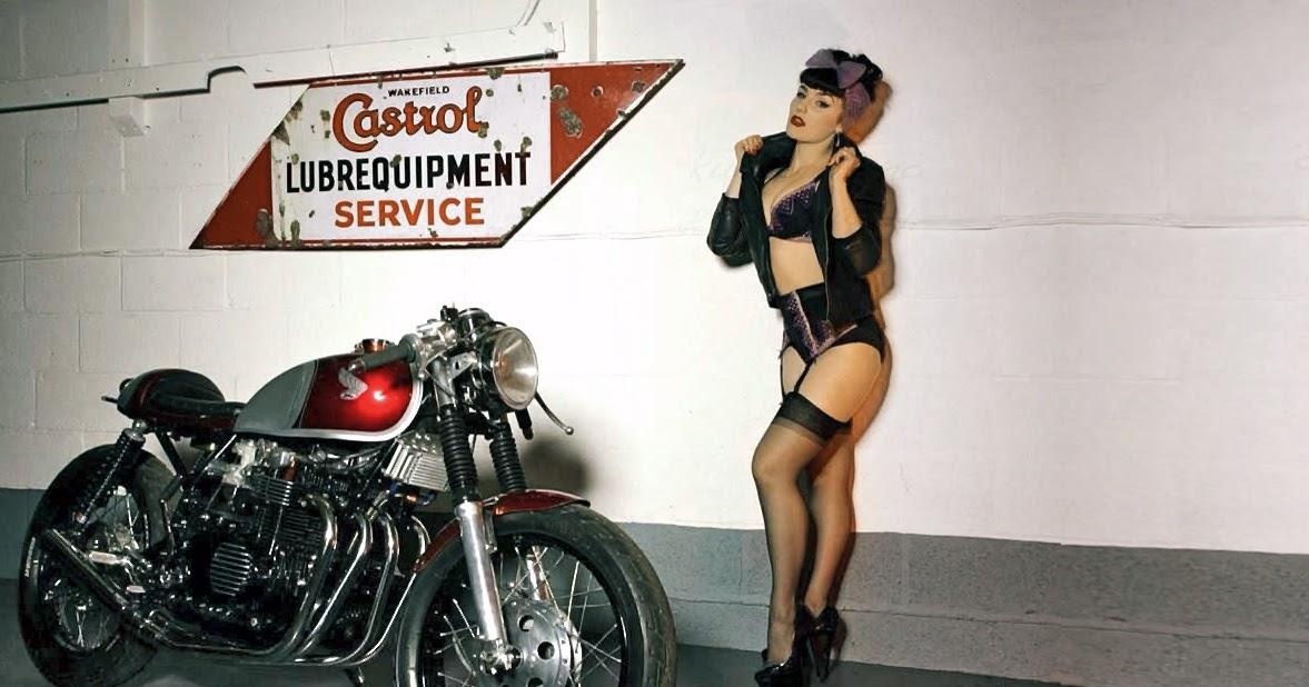 Vintage Cb500 Four Inazuma Caf 233 Racer