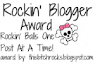 ROCKIN BLOGGER AWARD