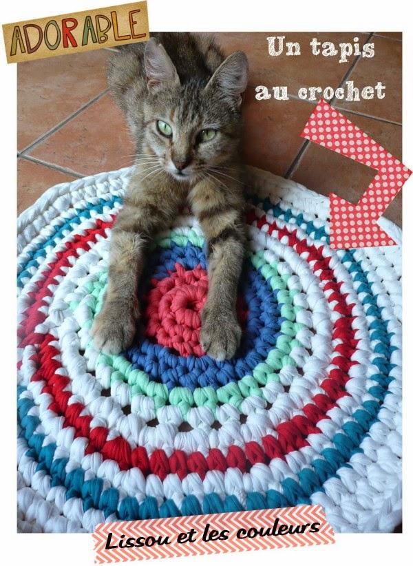lissou et les couleurs un tapis au crochet. Black Bedroom Furniture Sets. Home Design Ideas