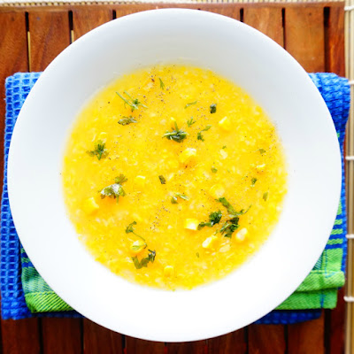 Sweet Corn Soup,Makai Soup,healthy soups,Indian soups