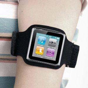 GTMax Black Sport Armband Cover Case for Apple iPod Nano ...
