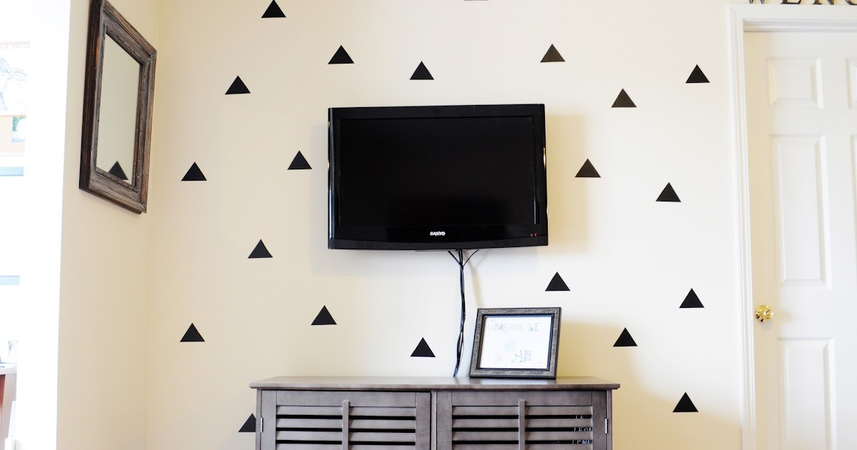 Little Sloth Diy Triangle Statement Wall