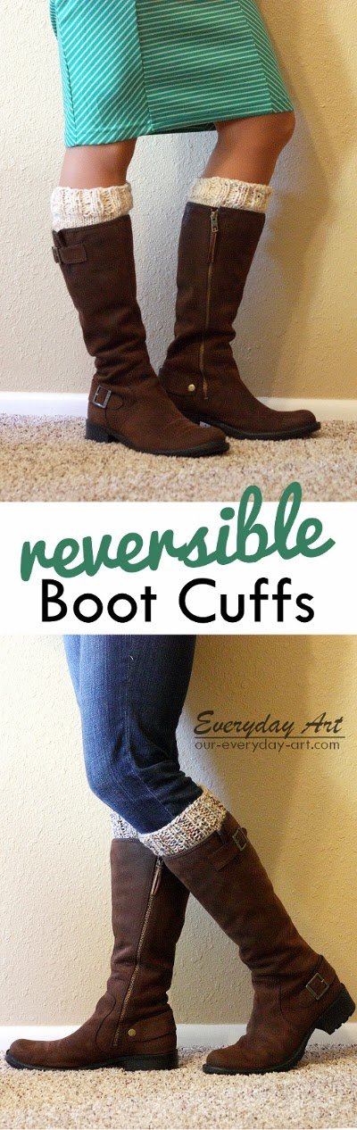 http://www.our-everyday-art.com/2014/01/free-reversible-knit-boot-cuff-pattern.html