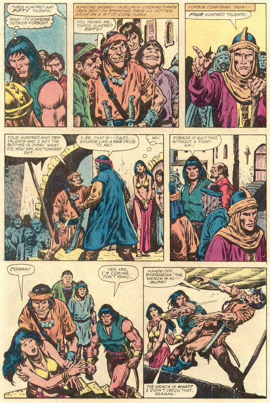 Conan the Barbarian (1970) Issue #142 #154 - English 6