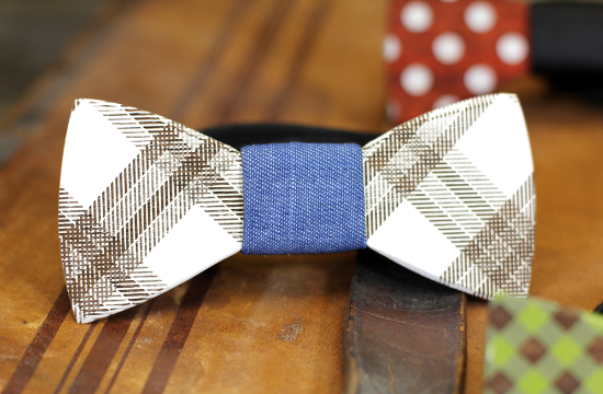 Two Guys Bow ties, wooden bow ties, groom style
