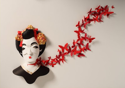 stunning paper sculpture by Sher Christoper