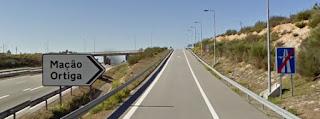 A23 saída Ortiga
