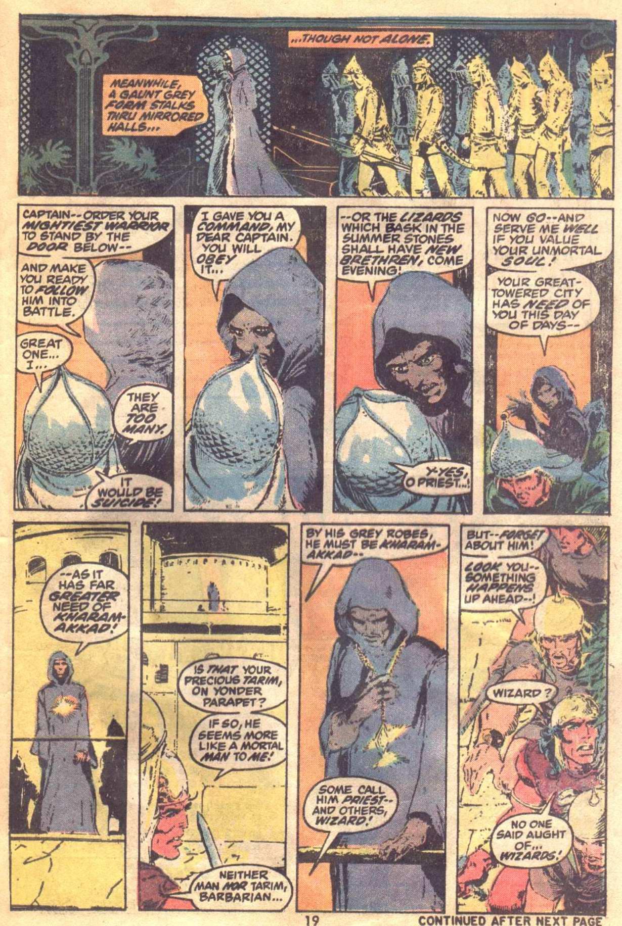 Conan the Barbarian (1970) Issue #19 #31 - English 15