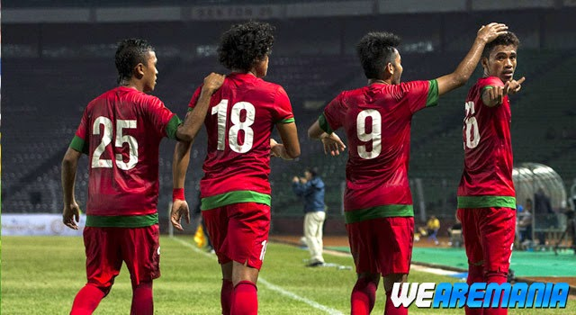 Hasil Skor Akhir: Timnas U-23 vs Arema Indonesia Friendly Match (Sabtu, 12 Juli 2014)